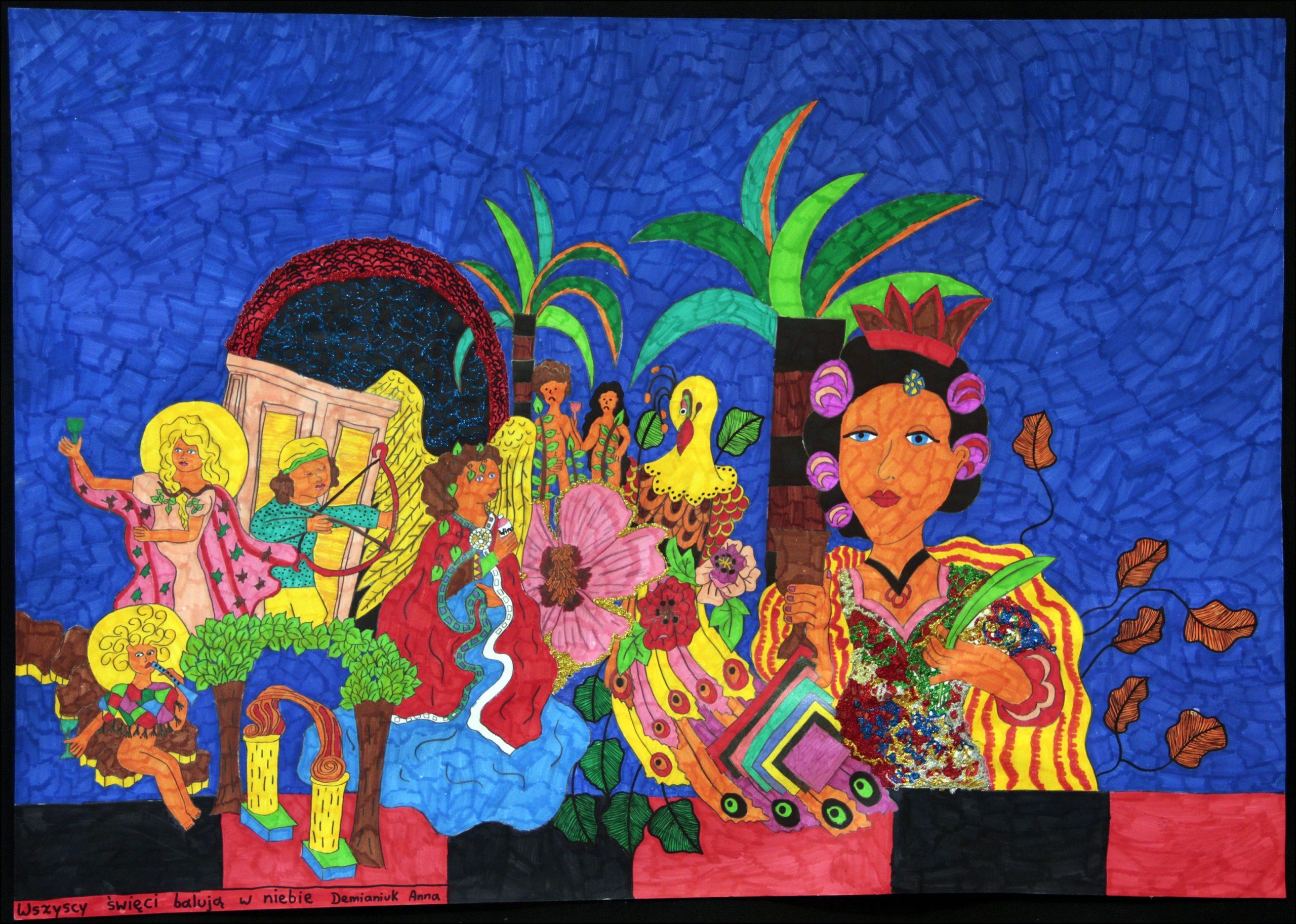 Wystawa i wernisaż prac Anny Demianiuk – Malarstwo Naiwne